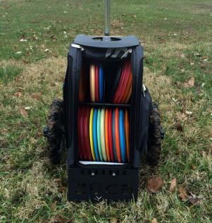 ZÜCA All-Terrain Disc Golf Cart