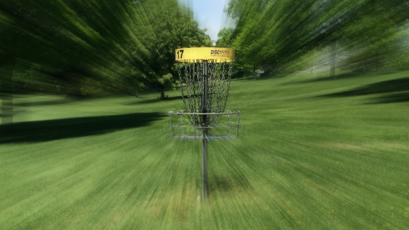Disc golf focus