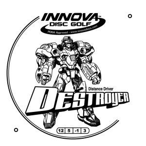Innova Destroyer Hotstamp