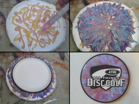 Disc Dying Step 5