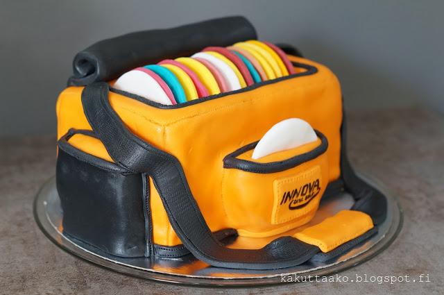 Disc Golf Cake - Kakuttaako