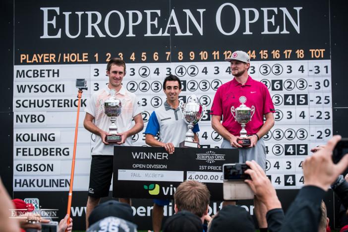 2015 European Open Winners