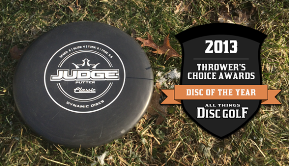 Thrower's Choice Awards - Dynamic Discs Judge