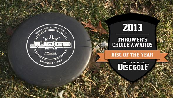 Thrower's Choice Awards - Dynamic Discs Judge