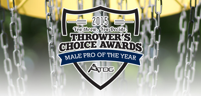 2015 Thrower's Choice Awards - Male Pro of the Year
