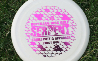 Reptilian Disc Golf Serpent