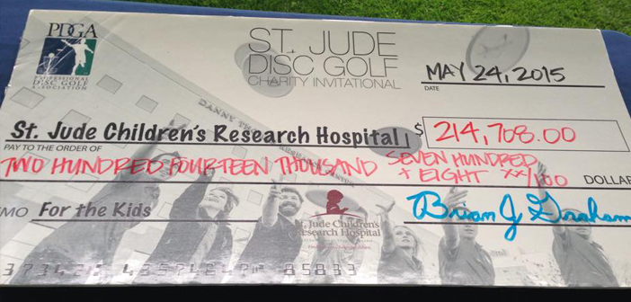 Fundraising for 2016 St. Jude Disc Golf Charity Invitational continues