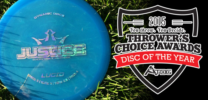 Dynamic Discs Justice - Thrower's Chocie Awards Disc of the Year