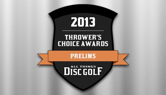 Thrower's Choice Awards 2013 - Prelims