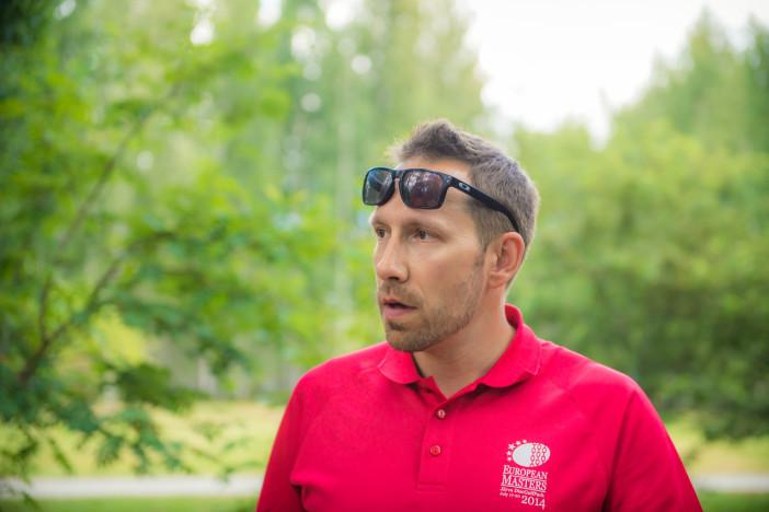 Jussi Meresmaa at the 2014 European Masters. Photo: European Masters