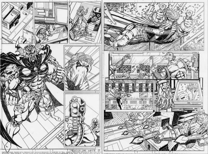Les White - Comics