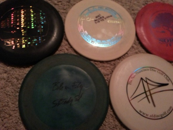 Out of production discs