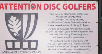 Milwaukee County Parks - Disc Golf Permit