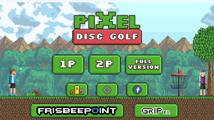 Pixel Disc Golf Lite
