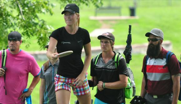 Ragna Bygde at the 2014 Kansas City Wide Open. (Photo: PDGA Media)