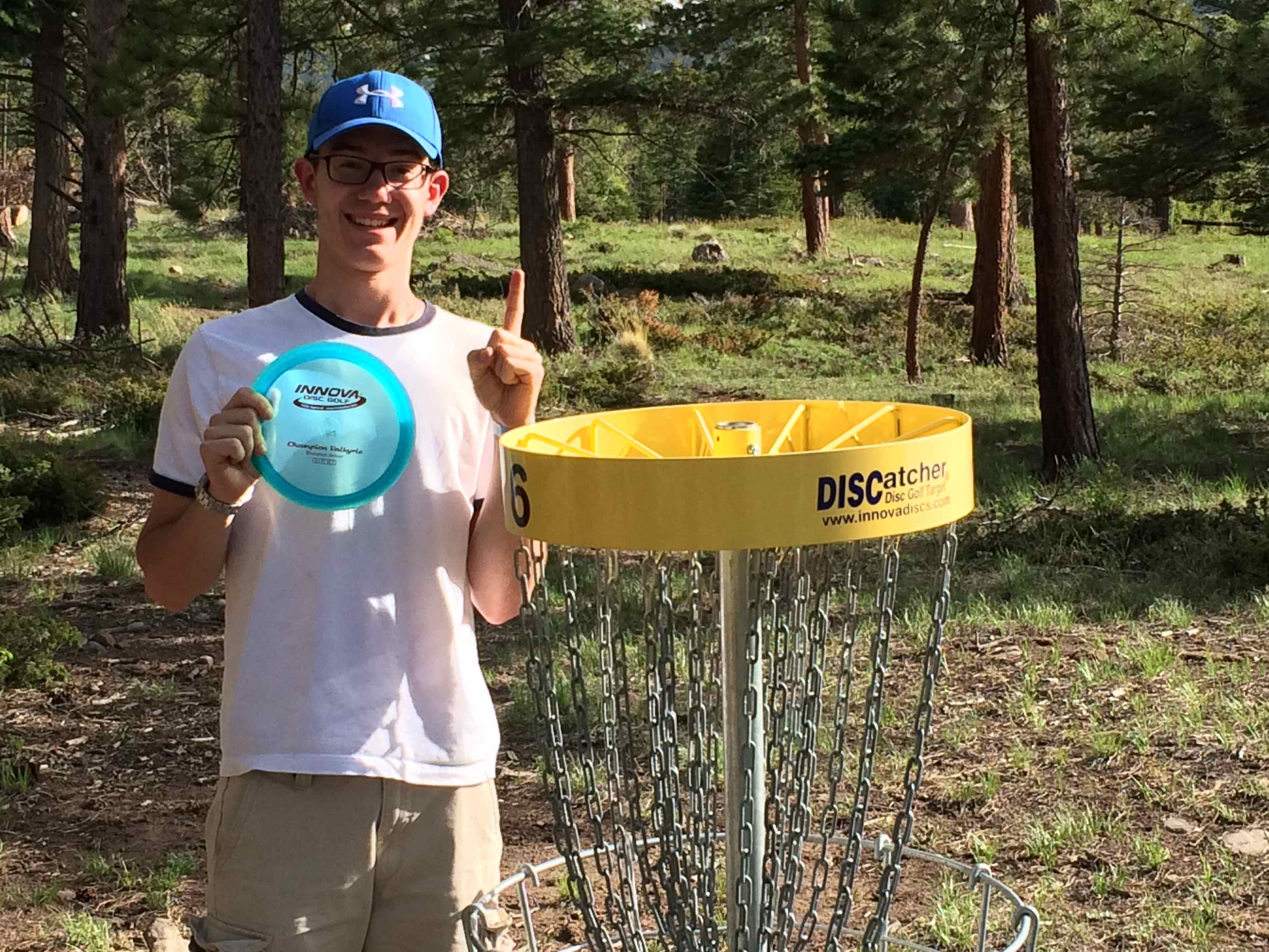 Disc golf ace