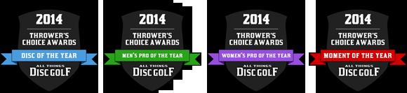 2014 Thrower's Choice Awards