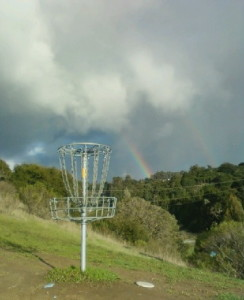 Disc golf - double rainbow