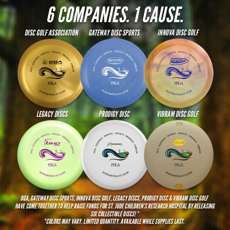 St. Jude Fundraiser Discs